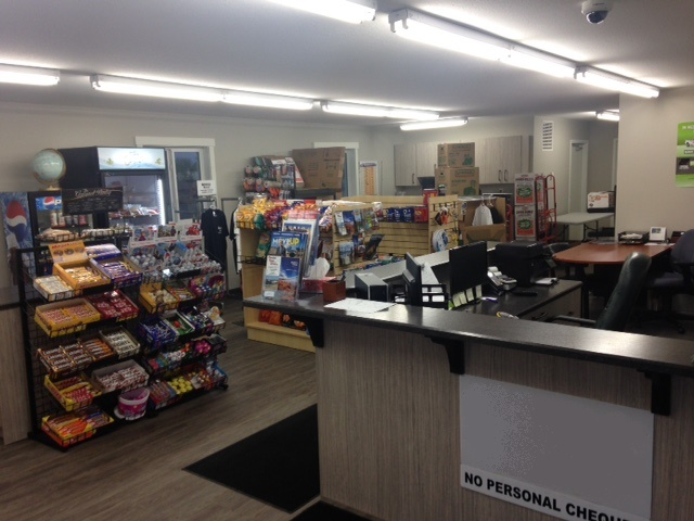 Inside Convenience Store